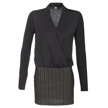 Υφασμάτινα Γυναίκα Κοντά Φορέματα Le Temps des Cerises MALAYA Black