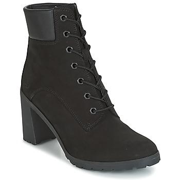 Παπούτσια Γυναίκα Μποτίνια Timberland ALLINGTON 6IN LACE UP Black