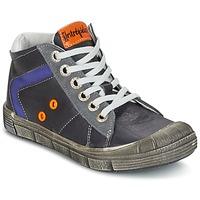 Παπούτσια Αγόρι Ψηλά Sneakers Babybotte KANADA Grey / Fonce