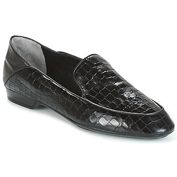 Παπούτσια Γυναίκα Μοκασσίνια Robert Clergerie FANIN-COCCO-AGNEAU-NOIR Black