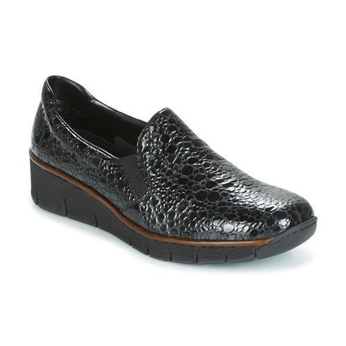 Παπούτσια Γυναίκα Slip on Rieker LLOYD Black