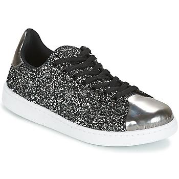 Παπούτσια Γυναίκα Χαμηλά Sneakers Yurban HELVINE Grey / Glitter
