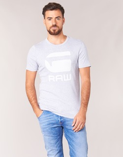 Υφασμάτινα Άνδρας T-shirt με κοντά μανίκια G-Star Raw DRILLON Grey