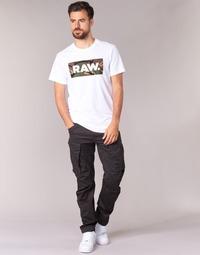 Υφασμάτινα Άνδρας παντελόνι παραλλαγής G-Star Raw ROVIC ZIP 3D TAPERED Raven
