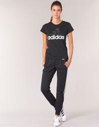 Υφασμάτινα Γυναίκα Φόρμες adidas Performance ESS 3S PANT CH Black