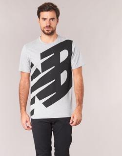 Υφασμάτινα Άνδρας T-shirt με κοντά μανίκια New Balance NB ESSENTIEL T Grey