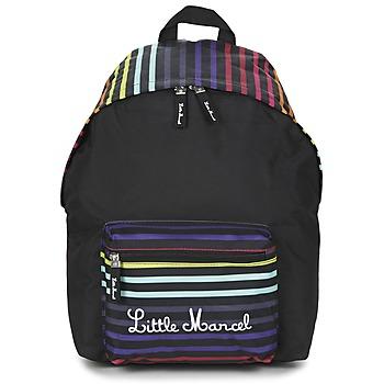Τσάντες Γυναίκα Σακίδια πλάτης Little Marcel SATURNIN Black / Multicolore