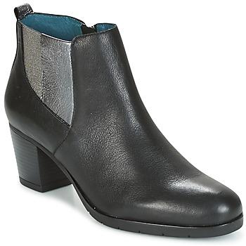 Παπούτσια Γυναίκα Μποτίνια Karston GADJO Black