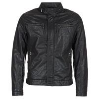 Υφασμάτινα Άνδρας Δερμάτινο μπουφάν Esprit VARDA Black