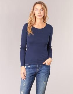 Υφασμάτινα Γυναίκα Μπλουζάκια με μακριά μανίκια Esprit GIMUL Marine