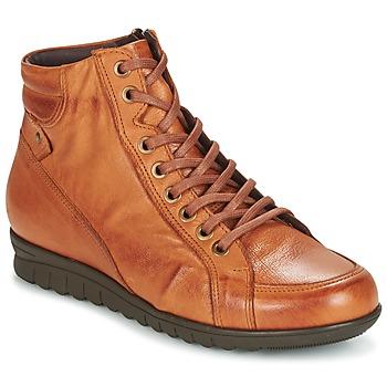 Παπούτσια Γυναίκα Ψηλά Sneakers Pitillos 2631 COGNAC