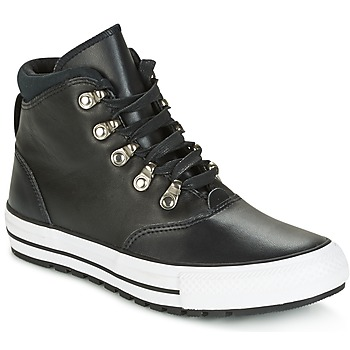 Παπούτσια Γυναίκα Ψηλά Sneakers Converse CHUCK TAYLOR ALL STAR EMBER BOOT SMOOTH LEATHER HI BLACK/BLACK/W Black / Άσπρο