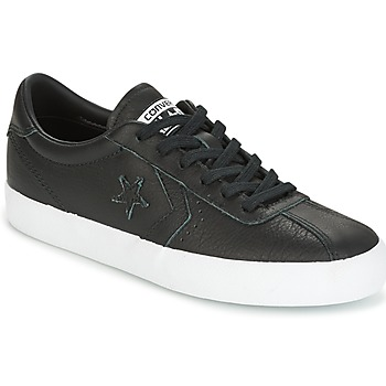 Παπούτσια Γυναίκα Χαμηλά Sneakers Converse BREAKPOINT FOUNDATIONAL LEATHER OX BLACK/BLACK/WHITE Black / Άσπρο