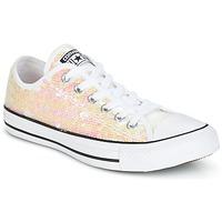 Παπούτσια Γυναίκα Χαμηλά Sneakers Converse CHUCK TAYLOR ALL STAR SEQUINS OX WHITE/BLACK/WHITE Άσπρο / Paillettes