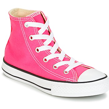 Παπούτσια Κορίτσι Ψηλά Sneakers Converse CHUCK TAYLOR ALL STAR SEASONAL HI PINK POW Ροζ
