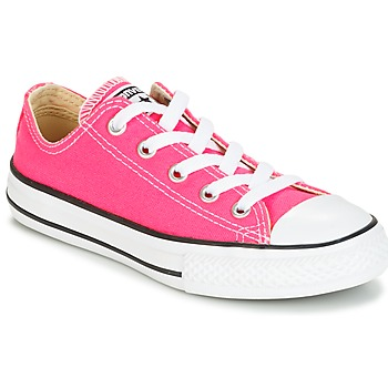 Παπούτσια Κορίτσι Χαμηλά Sneakers Converse CHUCK TAYLOR ALL STAR SEASONAL OX PINK POW Ροζ