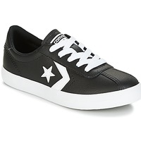 Παπούτσια Παιδί Χαμηλά Sneakers Converse BREAKPOINT FOUNDATIONAL LEATHER BP OX BLACK/WHITE/BLACK Black / Άσπρο