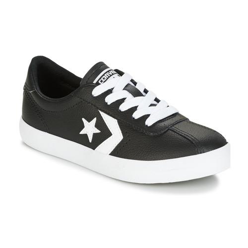 Παπούτσια Παιδί Χαμηλά Sneakers Converse BREAKPOINT FOUNDATIONAL LEATHER BP OX BLACK/WHITE/BLACK Black / Άσπρο