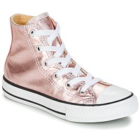 Παπούτσια Κορίτσι Ψηλά Sneakers Converse CHUCK TAYLOR ALL STAR METALLIC SEASONAL HI METALLIC SEASONAL HI Ροζ / Άσπρο / Black