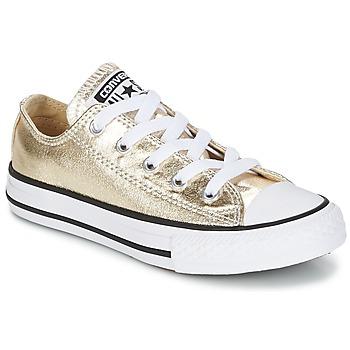 Παπούτσια Κορίτσι Χαμηλά Sneakers Converse CHUCK TAYLOR ALL STAR Kulta