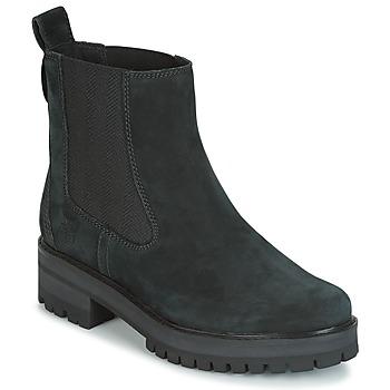 Παπούτσια Γυναίκα Μπότες Timberland COURMAYER VALLEY CHELSEA Black