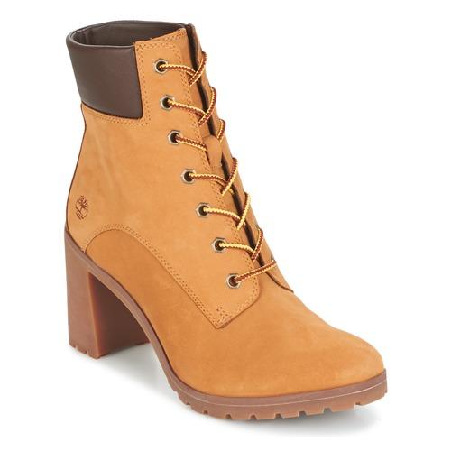 Παπούτσια Γυναίκα Μποτίνια Timberland ALLINGTON 6IN LACE UP Brown