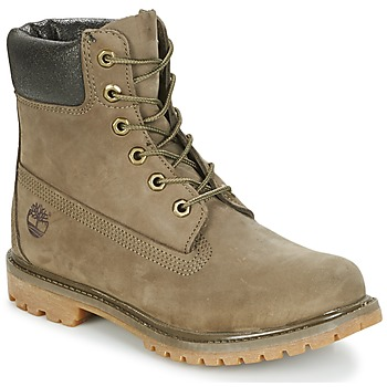 Παπούτσια Γυναίκα Μπότες Timberland 6IN PREMIUM BOOT - W Canteen / Waterbuck / Brown