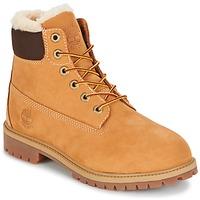 Παπούτσια Παιδί Μπότες Timberland 6 IN PRMWPSHEARLING LINED Brown