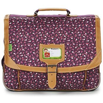 Τσάντες Κορίτσι Σάκα Tann's EXCLU CHERRY CARTABLE 38CM Grey / Ροζ