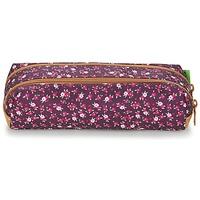 Τσάντες Κορίτσι Κασετίνες Tann's EXCLU CHERRY TROUSSE DOUBLE Grey / Ροζ