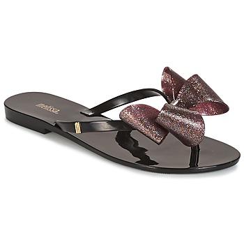 Παπούτσια Γυναίκα Γόβες Melissa HARMONIC TARTAN AD Black