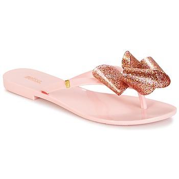 Παπούτσια Γυναίκα Σαγιονάρες Melissa HARMONIC TARTAN AD ροζ