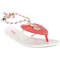 Παπούτσια Γυναίκα Σαγιονάρες Melissa BLISS II SP AD άσπρο / Red