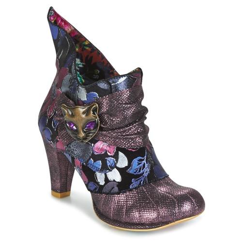 Παπούτσια Γυναίκα Χαμηλές Μπότες Irregular Choice MIAOW Violet