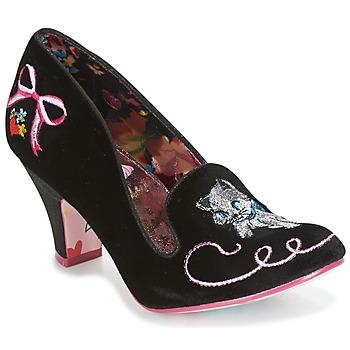 Παπούτσια Γυναίκα Γόβες Irregular Choice FUZZY PEG Black