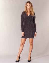 Υφασμάτινα Γυναίκα Κοντά Φορέματα Morgan RIKRAK Black