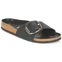Παπούτσια Γυναίκα Τσόκαρα Birkenstock MADRID BIG BUCKLE Black / Ματ