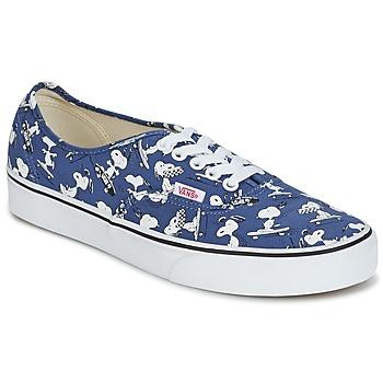 Παπούτσια Χαμηλά Sneakers Vans AUTHENTIC SNOOPY μπλέ / άσπρο