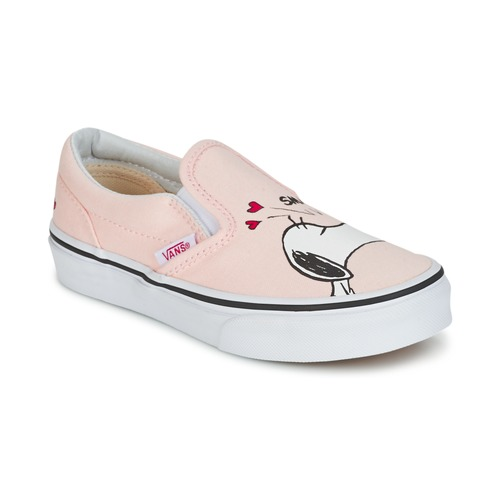 Παπούτσια Κορίτσι Slip on Vans TD CLASSIC SLIP-ON SNOOPY Ροζ