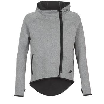 Υφασμάτινα Γυναίκα Φούτερ Nike TECH FLEECE CAPE FZ Grey