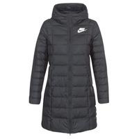 Υφασμάτινα Γυναίκα Μπουφάν Nike DOWN FILL PARKA Black / Άσπρο