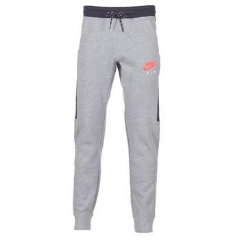 Υφασμάτινα Άνδρας Φόρμες Nike AIR JOGGER FLEECE Grey / Red