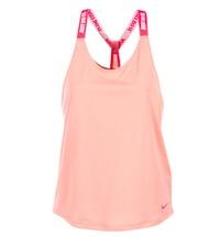 Υφασμάτινα Γυναίκα Αμάνικα / T-shirts χωρίς μανίκια Nike NIKE DRY TANK ELASTIKA ροζ / Red