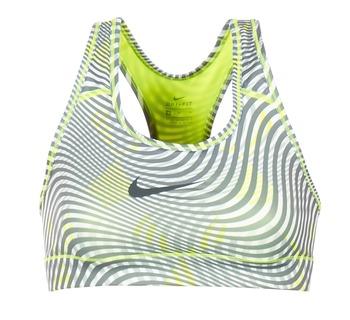 Υφασμάτινα Γυναίκα Αθλητικά μπουστάκια  Nike NIKE PRO CLASSIC BRA Yellow / Grey