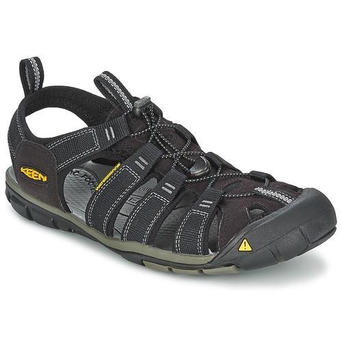 Παπούτσια Άνδρας Σπορ σανδάλια Keen MEN CLEARWATER CNX Black / Grey