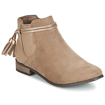 Παπούτσια Γυναίκα Μπότες Moony Mood GATHA TAUPE