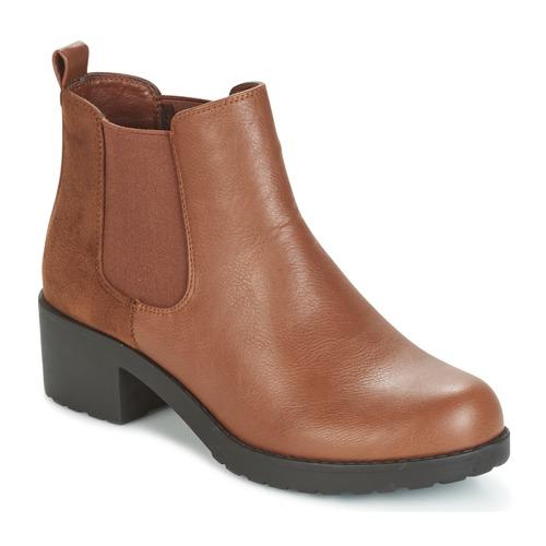 Παπούτσια Γυναίκα Μποτίνια Moony Mood GLOVILA CAMEL