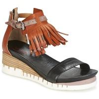 Παπούτσια Γυναίκα Σανδάλια / Πέδιλα Airstep / A.S.98 YVES Brown / Black