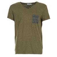Υφασμάτινα Άνδρας T-shirt με κοντά μανίκια Eleven Paris ABICO Kaki