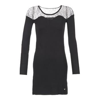 Υφασμάτινα Γυναίκα Κοντά Φορέματα LPB Woman DARTO Black